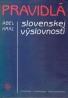 Ábel Král: Pravidlá slovenskej výslovnosti