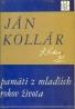 Ján Kollár- Pamäti z mladších rokov života