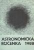 Eduard Pittich: Astronomická ročenka 1988