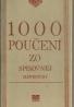 Kolektív autorov: 1000 poučení zo spisovnej slovenčiny