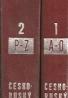 Česko-ruský slovník (Ческо-русский словарь), 1+2