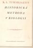 K.A.Timirjazev: Historická methoda v biologii