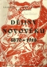 Kolektív autorov: Dějiny novověku 1870-1918