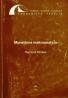 Rajmund Mirdala: Monetárna makroanalýza
