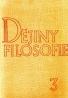 Kolektív autorov: Dějiny filosofie 3