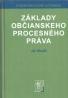 Ján Mazák-Základy občianskeho procesného práva