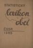 kolektív-Statický lexikon obcí ČSSR 1965