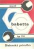 kolektív-Moped Babetta typ 210