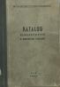 Kolektív-Katalog náhradních dílců k obráběcím strojům