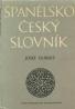 J.Dubský-Španielsko-Český slovník