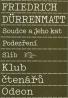 Friedrich Dürrenmatt-Soudce a jeho kat, Podezření, Slib