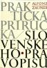 Alfonz Zauner- Praktická príručka Slovenského pravopisu