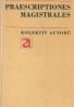 kolektív- Praescriptiones magistrales