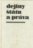 kolektív- Dejiny štátu a práva I.-II. 1848-1945