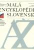 kolektív- Malá encyklopédia Slovenska A-Ž