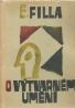 E.Filla- O výtvarném umění