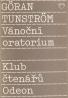 Göran Tunström- Vánoční oratorium