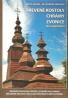 Miloš Dudáš- Drevené kostoly, chrámy, zvonice na Slovensku