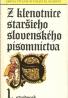 kolektív- Z klenotnice staršieho Slovenského písomníctva / stredovek