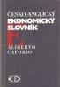 Aliberto Caforio- Česko - Anglický ekonomický slovník