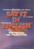 Paul Benson- Say it English konverzácia pre pokročilých