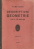 Klíma, Ingriš- Deskriptivní geometrie pro V. tř. reálek