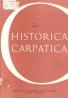 kolektív- Historica Carpatica 4/1973