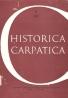 kolektív- Historica Carpatica 13/1982
