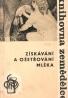 B. Suchánek- Získávání a ošetřování mléka