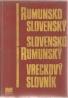 kolektív- Rumunsko / Slovenský - Slovensko / Rumunský vreckový slovník