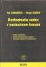 Eva Kukanová- Rozhodnutia súdov v exekučnom konaní