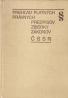 kolektív- Prehľad platných právnych predpisov zbierky zákonov ČSSR