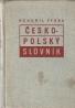 Bohumil Vydra- Česko-Polský slovník