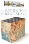 Pavel Dvořák: 5 kníh o Bratislave