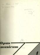 Kolektív autorov: Opus musicum 1977