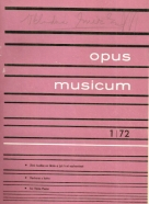 Kolektív autorov:Opus musicum 1972