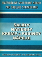 Kolektív autorov: Šaláty,nátierky,krémy a pudingy,nápoje