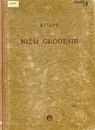 Jozef Ryšavý: Nižší geodesie