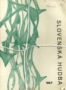 Kolektív autorov: Slovenská hudba 1967