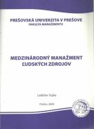 Ladislav Sojka-Medznárodný manažment ľudských zdrojov