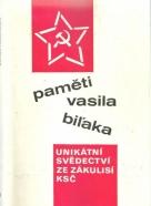 kolektív-Paměti Vasila Biľaka I-II