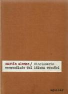Martín Alonso-Diccionario compendiado del idioma Espaňol