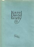 Karel David-Texty
