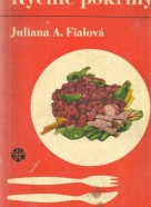 J.A.Fialová - Rýchle pokrmy