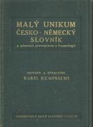 Karel Kumprecht- Malý unikum Česko - Německý slovník