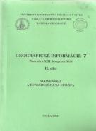 kolektív- Geografické informácie 7 / 2. diel