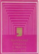 kolektív- Slovenské divadlá v sezóne 1972-1973
