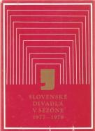 kolektív- Slovenské divadlá v sezóne 1977-1978