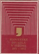 kolektív- Slovenské divadlá v sezóne 1971-1972