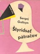 Sergej Golicyn- Štyridsať pátračov